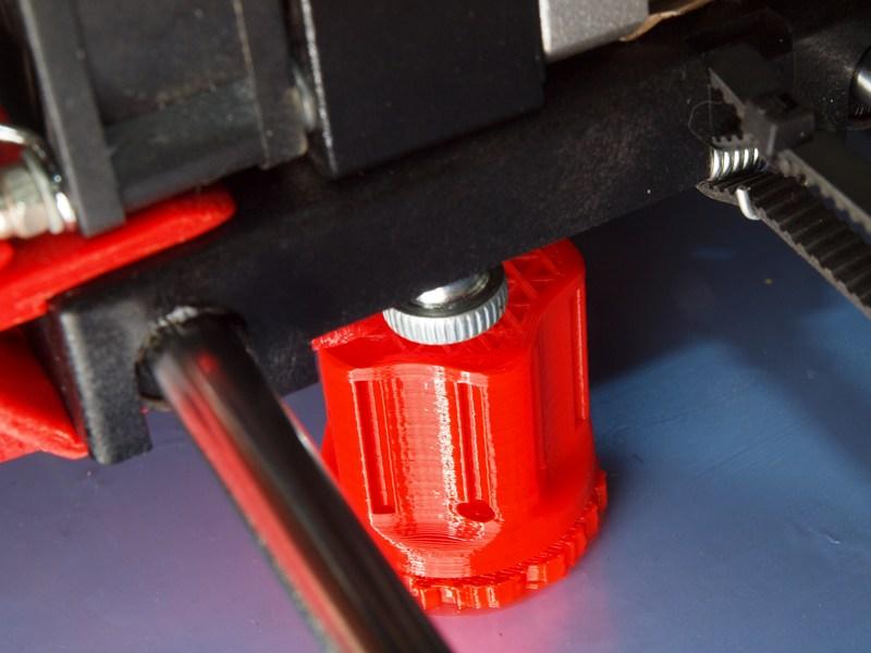 Отвёртка - процесс печати