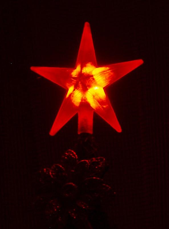 Звезда на ёлке