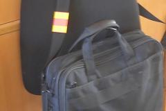 Отражатель на сумке