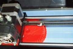 Печать зубчатого колеса