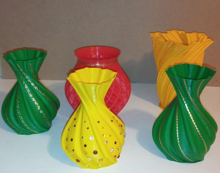 все вазочки